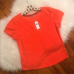 NEW Anthro Coral Medium Top by Saturday Sunday